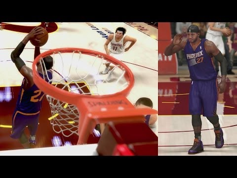 NBA 2K14 PS4 My Career - Unbelievable 360 Dunk!