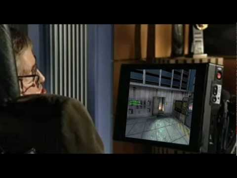 Stephen Hawking Plays COD Black Ops 2