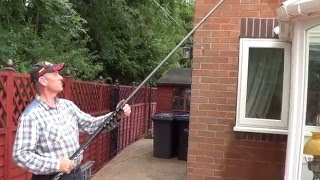 Gardiner SL-X 35 Review - Carbon fibre window cleaning pole
