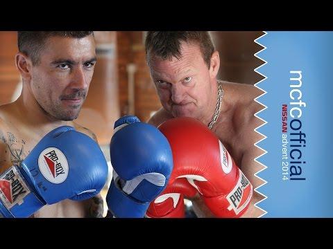 KOLAROV FIGHTS CHAPPY! | Man City Advent Calendar 2014 | Day Three