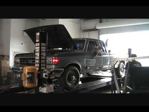 Ford IDI on the Dyno