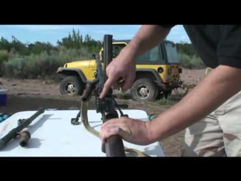 Bren Gun at the Range