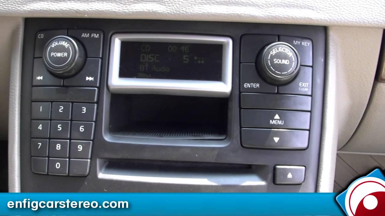 Volvo XC90 Bluetooth adapter Dension BTA-1500 - YouTube