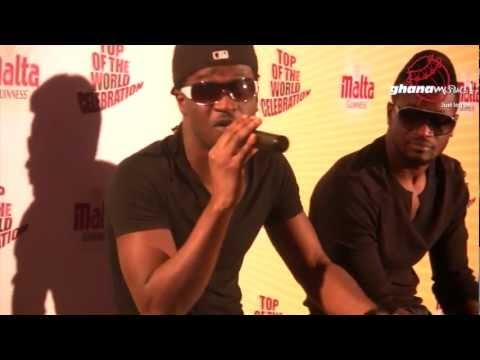 P-Square - - Malta Guinness Top Of The World Celebration  press conf.