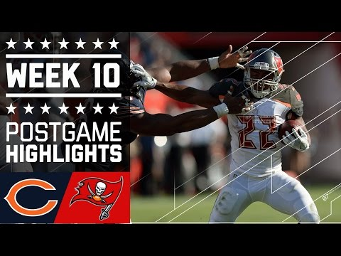 Bears Vs Buccaneers Nfl Week 10 Game Highlights
