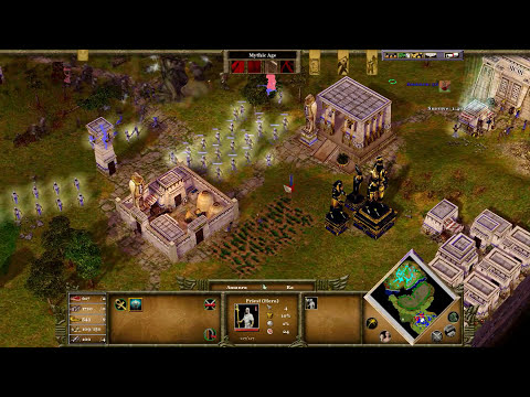 Age of Mythology EX - Mission 7   Betrayal at Sikyos   The New Atlantis Campaign [TITAN/1080p/HD]