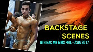 6th NAC Mr & Ms Phil-Asia 2017: Backstage Scenes