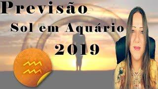 PREVISÃO SOL em AQUÁRIO 2019 | QUAIS as PRINCIPAIS ENERGIAS - Encontros Astrológicos