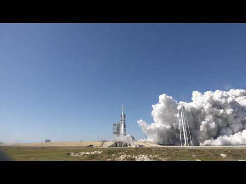 Falcon Heavy Demo | Static Fire