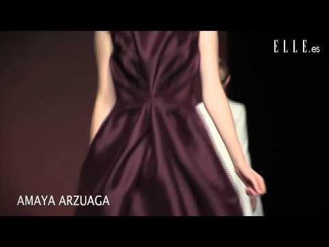 Amaya Arzuaga. Mercedes-Benz Fashion Week Madrid otoño - inv