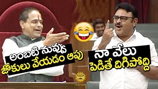 Ambati Rambabu Hilarious Punches in Assembly | AP Assembly Budget Sessions | Media Masters