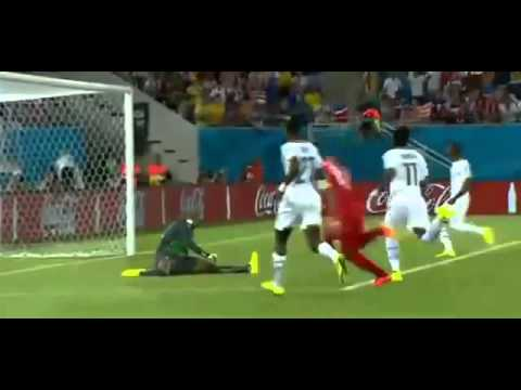 Clint Dempsey Amazing Goal Ghana vs USA 0-1 World Cup 2014