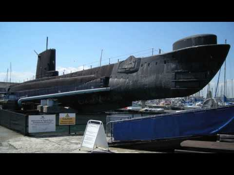 Royal Navy Submarine Museum Gosport South East England
