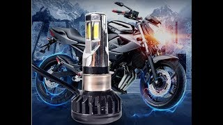Changer ampoule Moto par une LED M02E Aliexpress sur ma KTM Duke phare Streetfighter