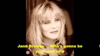 Jann Browne - It Only Hurts When I Laugh