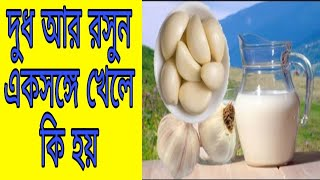 দুধ আর রসুন একসঙ্গে খেলে কি হয় | Bangla Health tips | Bangla News | AN Bangla News |