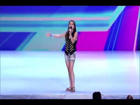Carly Rose Sonenclar cover - Feeling Good -Nina Simone -  Live at THE X FACTOR USA 2012 [HQ]