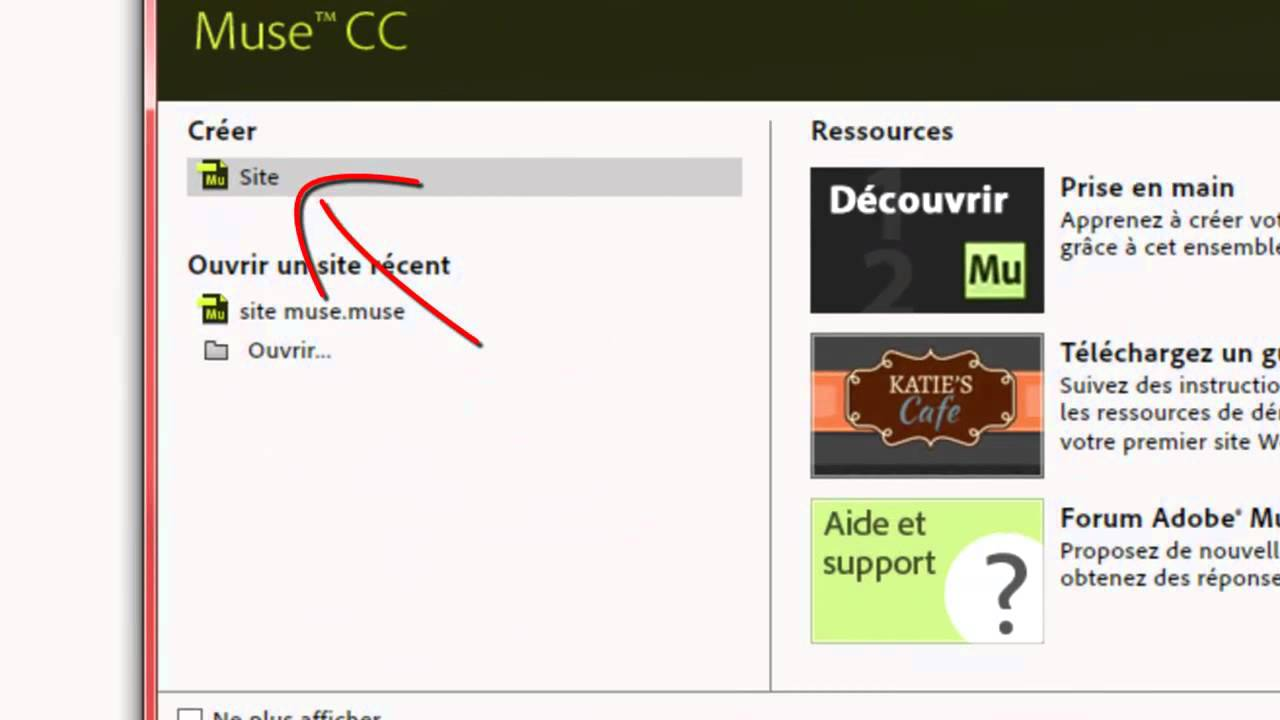 Adobe Muse Interface Web Design Avec Adobe Muse