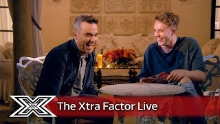 Roman Kemp catches up with Robbie Williams! | The Xtra Factor Live 2016