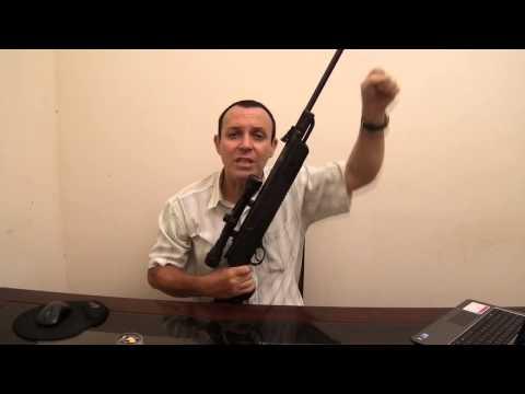 Unboxing Carabina Hatsan HT80   Gas ram de 60 KG