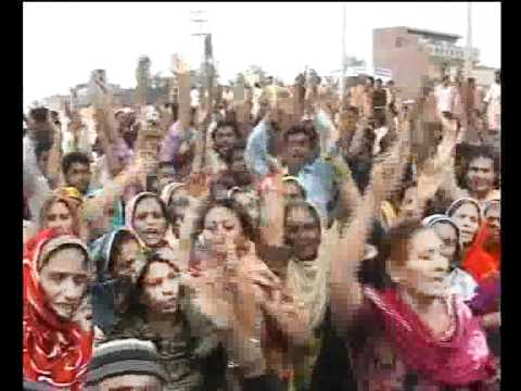 Citizens Protest Against School Teacher Rape Little Girl Badami Bagh Pkg By Ashraf Khokhar City42 video