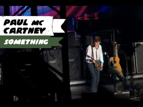 Paul McCartney - Something (BH, 04/05/13) filmado em HD