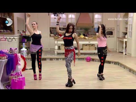 Aycan - NuR - Daniela'dan Oryantal Show (Kısmetse Olur)