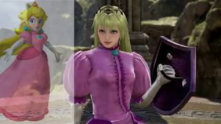 remaking daisy, peach and the super crown girls in soul caliber 6