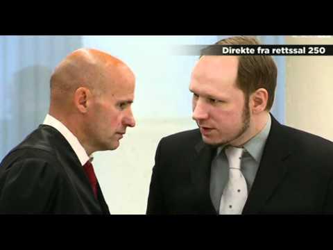 Anders Behring Breivik -  aRrRrRogant i retten (HD)
