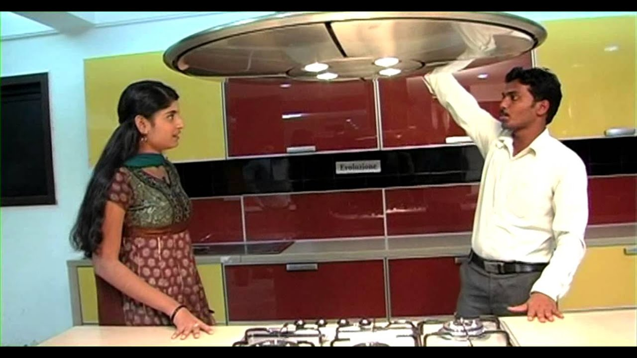 Shopping cart modern kitchen designs youtube for Latest modern kitchen design in india