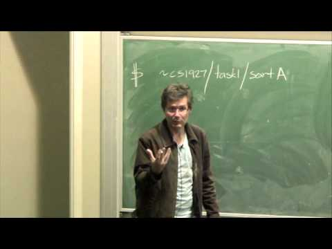 Lecture12: Data Structures and Algorithms - Richard Buckland