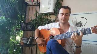 "Flamenco Guitar ""Bulerias falseta"""