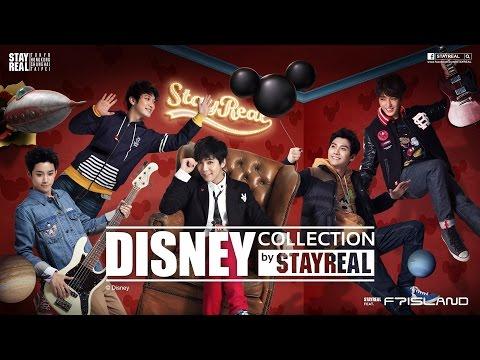 STAYREAL打造迪士尼魔幻變身秀 代言人FTISLAND全新秋冬造型首度曝光!