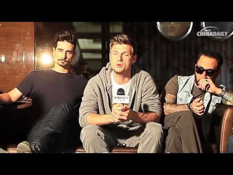 2013-05-23 - Backstreet Boys - China Daily Interview