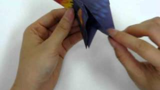 How To Make - Origami Rooster