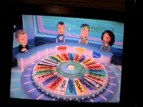 Wheel of Fortune Wii Run Game 4 Part 2