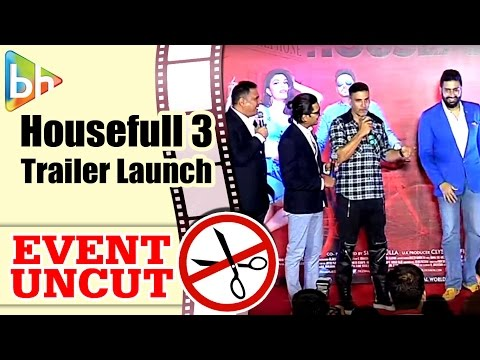 Housefull 3 OFFICIAL Trailer Launch | Akshay Kumar | Riteish | Abhishek | Jacqueline | Nargis