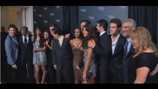 The Vampire Diaries Exclusive Video- Go Behind The Scenes Of The 100th Episode Party [Altyazılı]