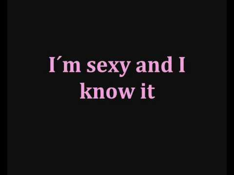 LMFAO - Sexy and I know it ( Lyrics )