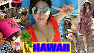 LAST HAWAII VLOG | BEACH, MORE LV SHOPPING + EATING, TRAVEL SKINCARE FAVS | PART 3 | CHARIS