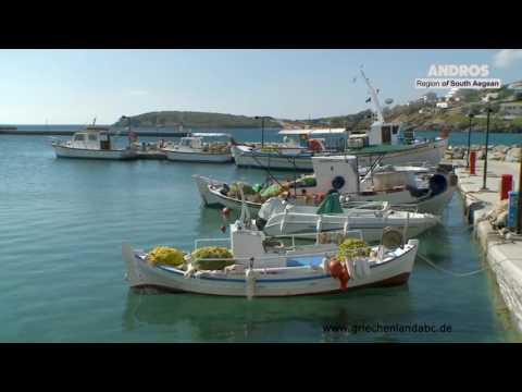 Insel Andros Kykladen