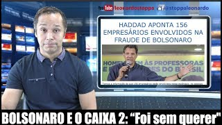 """Bolsonaro e o caixa 2: """"Eu não sabia de nada!""""#caixa2bolsonaro"""