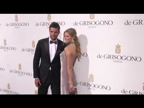 Toni Garrn and boyfriend Chandler Parsons at De Grisogono Photocall in Cannes
