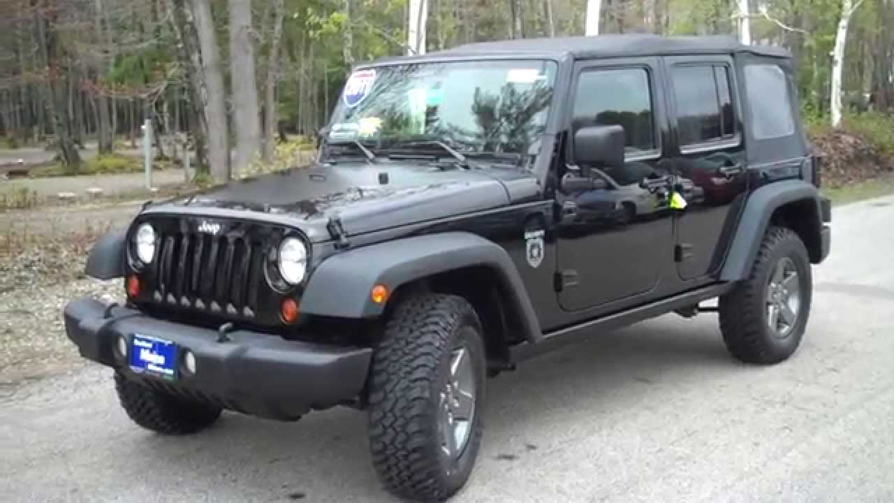 2011 jeep wrangler unlimited rubicon call of duty black ops southern maine motors saco me. Black Bedroom Furniture Sets. Home Design Ideas
