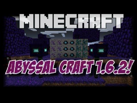 Minecraft: AbyssalCraft MOD 1.6.2 PL Ogarnij tego moda #2 Nowy biom rudy moby i przedmioty