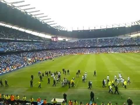 Manchester City 2013 Lap of honour vs Norwich 19/05/13