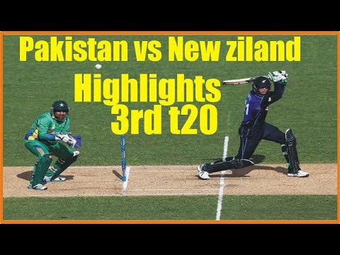 Pakistan VS New Ziland 3rd T20 Highlights 2018 || Pak VS Nz 3rd T20 Nov Highlihts|Today Cricket News