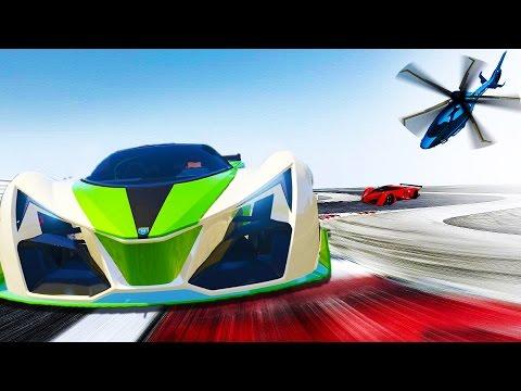 FASTEST SUPER CAR EVER!!! - NEW GTA 5 DLC Grotti X80 Proto