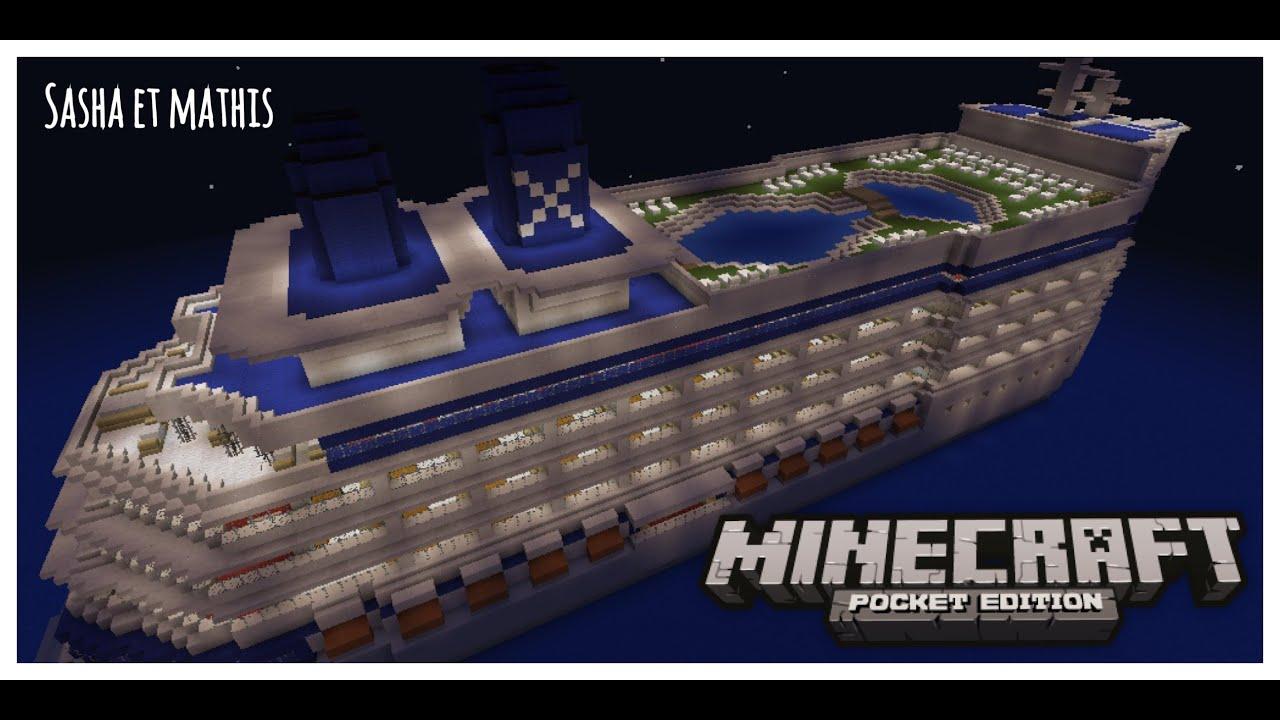 Minecraft Bateau de