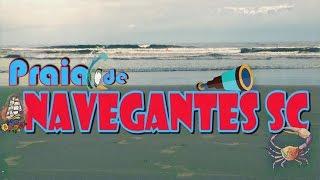 Viagem a Navegantes SC - Praia #1